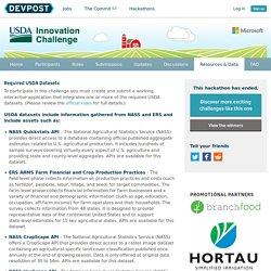 USDA Innovation Challenge