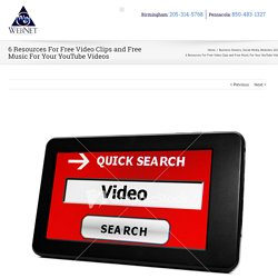 Resources For Free Video Clips and Free Music For Your YouTube Videos