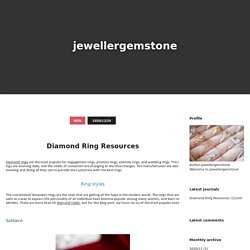 Diamond Ring Resources - jewellergemstone