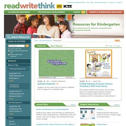 Resources for Kindergarten