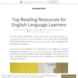 Top Reading Resources for English Language Learners – Essential Skills