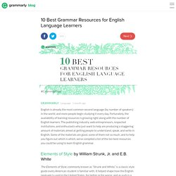 10 Best Grammar Resources for English Language Learners - Grammarly Blog