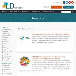 Resources - LD@school