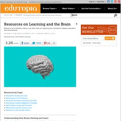 Brain-Based Learning: Resource Roundup