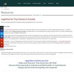 Tiny House Listings Canada