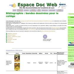 Resources : littérature jeunesse- Espace Doc Web - Académie de Lyon