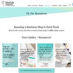 Mariah Magazine Web Design, Buffalo, NY