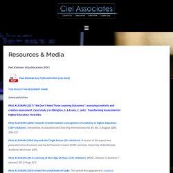 Resources & Media – Ciel Associates