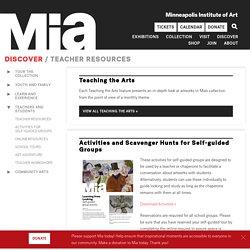Teacher Resources — Minneapolis Institute of Art