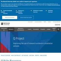 Q Suite Resources - Monash Education