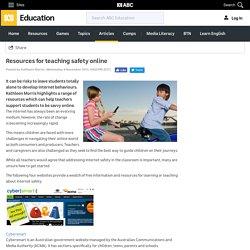 Resources for teaching safety online - Kathleen Morris - ABC Splash -
