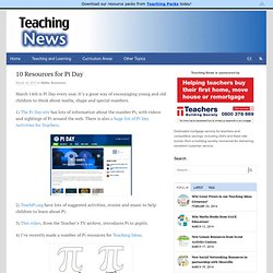 10 Resources for Pi Day