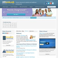 Cancer Resources from OncoLink | Treatment, Research, Coping, Clinical Trials, Prevention