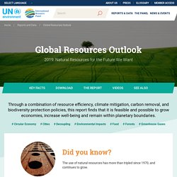 Global Resources Outlook