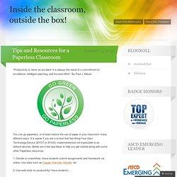 Savjeti i resursi za bez papira učionici