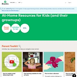 Resources for Kids at Home