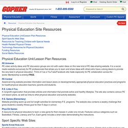 Resources Physical Educators