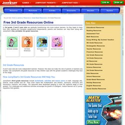 Free 3rd Grade Resources Online – Fun Resources for 3rd Graders Printable– JumpStart