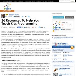 36 Resources To Help You Teach Kids Programming