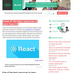 Some of the best resources to learn ReactJS DebugMe Blog