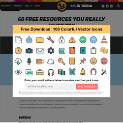 60 free resources you really must try