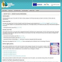 Resources - Safer Internet Day