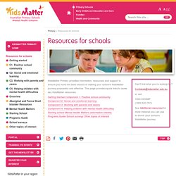 Resources for schools