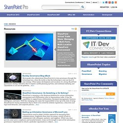 Free Resources - White Papers, eBooks, Guides, & Downloads | SharePoint Pro