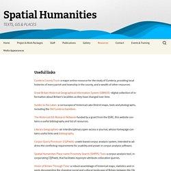 Spatial Humanities