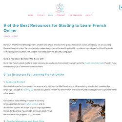 9 of the Best Resources for Starting to Learn French Online by Fluent Language