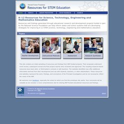 Resources for STEM Education