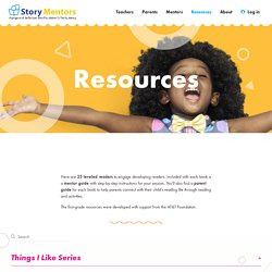 Resources – Story Mentors