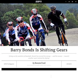 Barry Bonds uses money and resources to support women's cycling