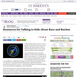 Resources for Talking to Kids About Race and Racism