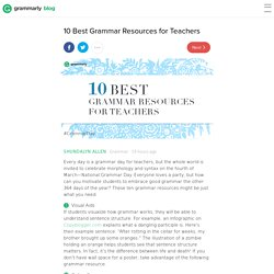 10 Best Grammar Resources for Teachers