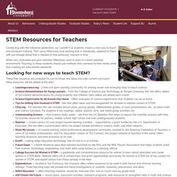 STEM Resources for Teachers