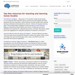 Resources for Teaching Social Studies – Classroom Aid
