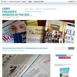 The Best Resources & Ideas For Teaching About Current Events