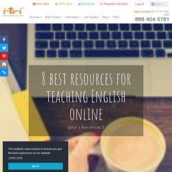 8 Best Resources for Teaching English Online