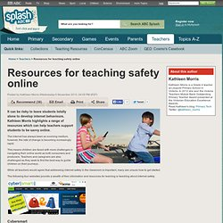 Resources for teaching safety online