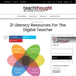 21 Literacy Resources For The Digital Teacher