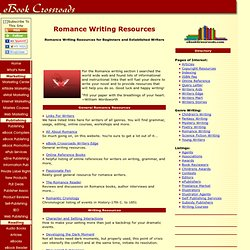 Romance Writing Resources: Workshops, Contests, Software, Books