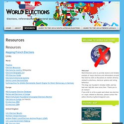 Links « World Elections