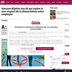 Amazon déploie une IA qui repère le non-respect de la distanciation entre employés