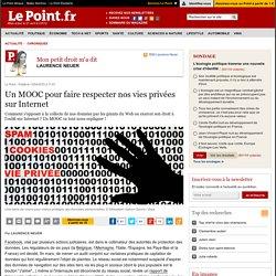 Un MOOC pour faire respecter nos vies privées sur Internet