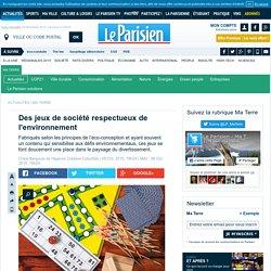 Des jeux de société respectueux de l'environnement