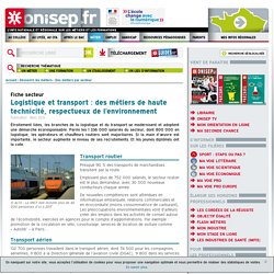 Logistique Onisep