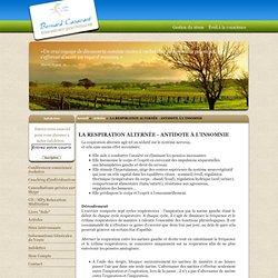 LA RESPIRATION ALTERNÉE - ANTIDOTE À L'INSOMNIE : Gestion du Stress, Relaxation, Méditation, Bernard Casavant Intervenant Psychosocial