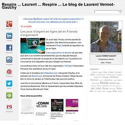 Cours ... Laurent ... Cours ...: Les jeux d'argent en ligne (et