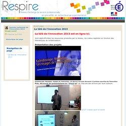 La télé de l'innovation (programme en ligne)
